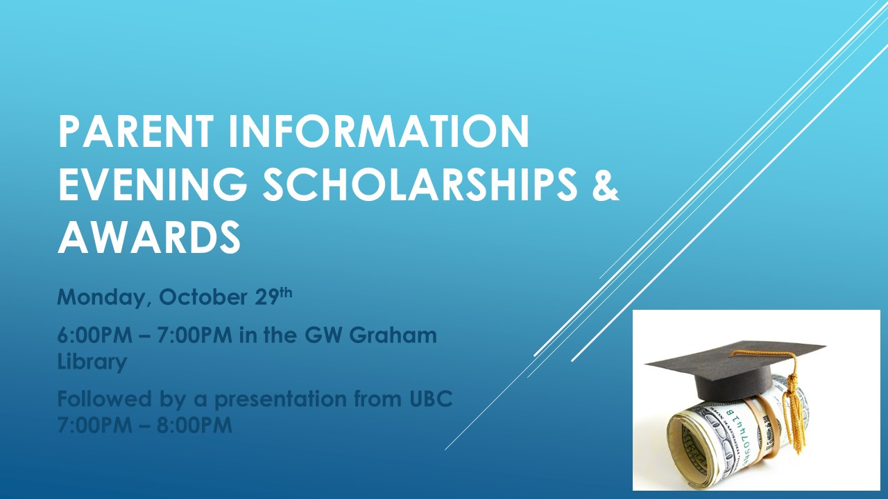 Scholarships & Awards Info Night